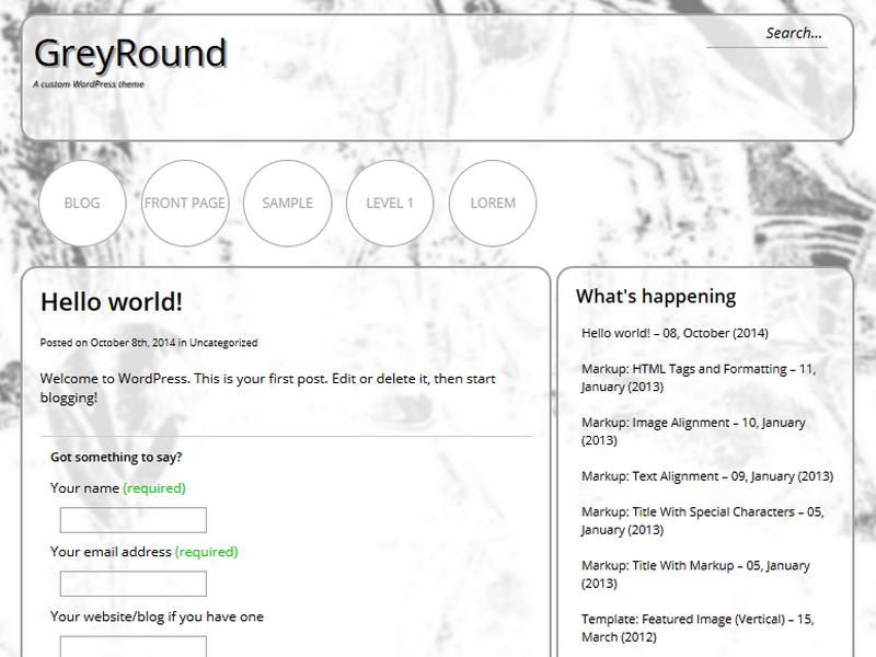 installer GreyRound