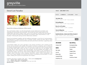 greyville free wordpress theme