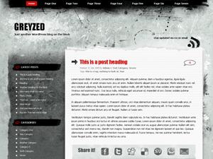Greyzed free wordpress theme