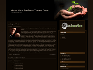 Grow Your Business free wordpress theme