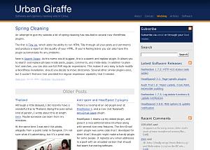 Guangzhou free wordpress theme