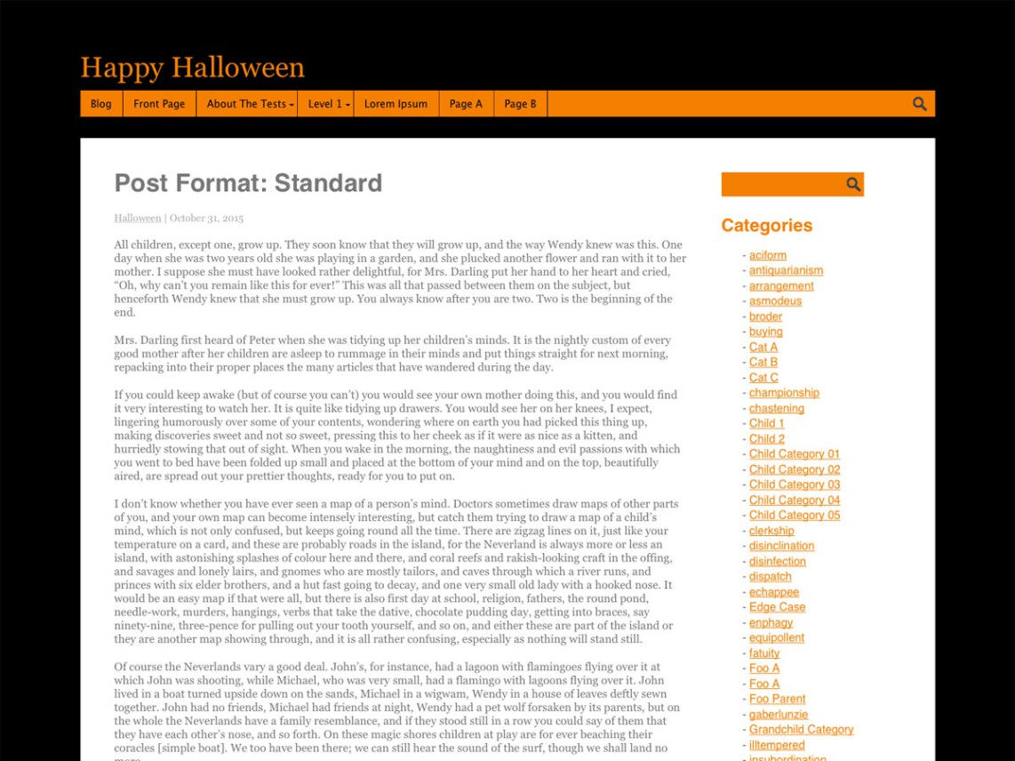 Halloween theme wordpress gratuit
