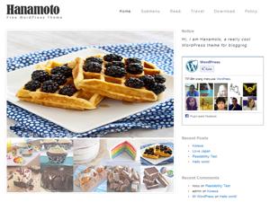 Hanamoto free wordpress theme