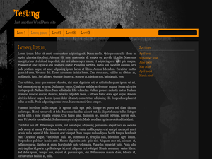 Haunted House free wordpress theme