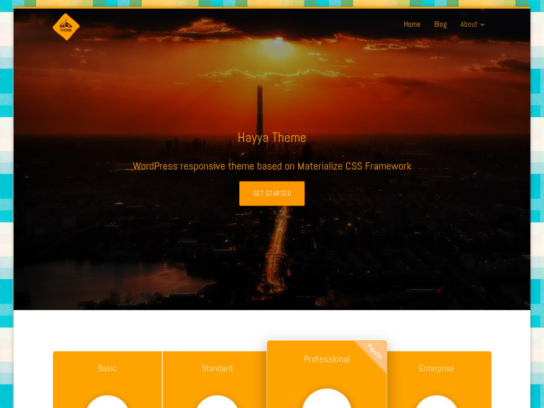 Hayya Theme Free Download