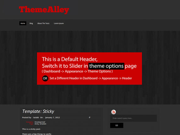 Hazen wordpress theme