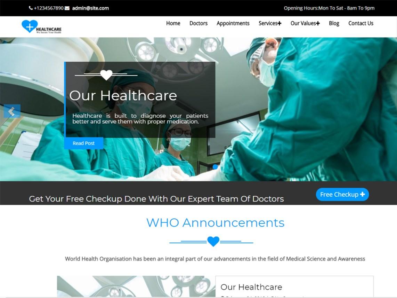 Healthcare Wordpress Org