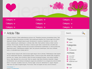Heartland free wordpress theme
