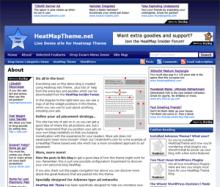 HeatMap Adsense Theme