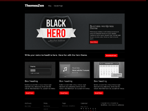Hero free wordpress theme