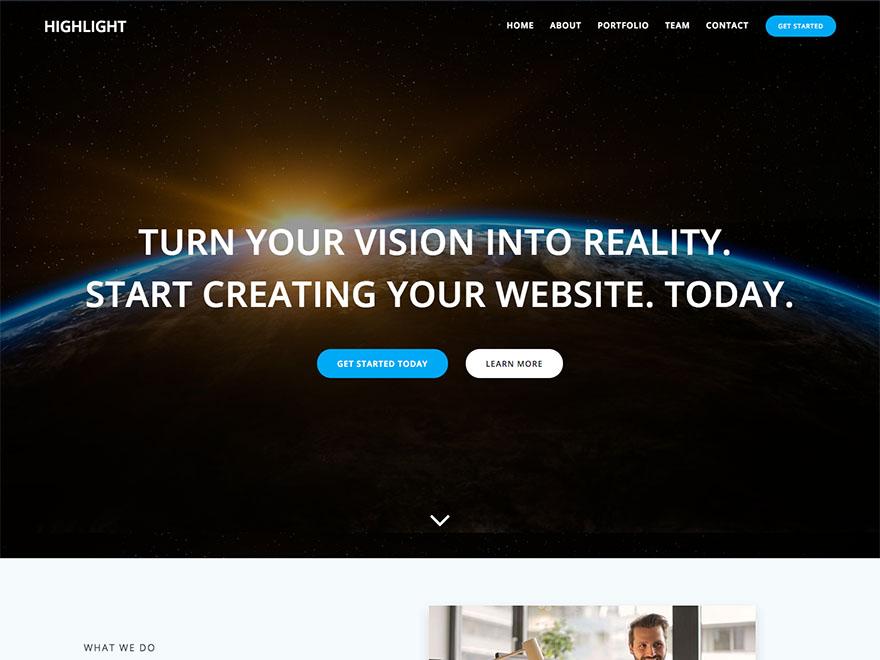 Hightlight-free-popular-responsive-multipurpose-WordPress-theme-Yudleethemes