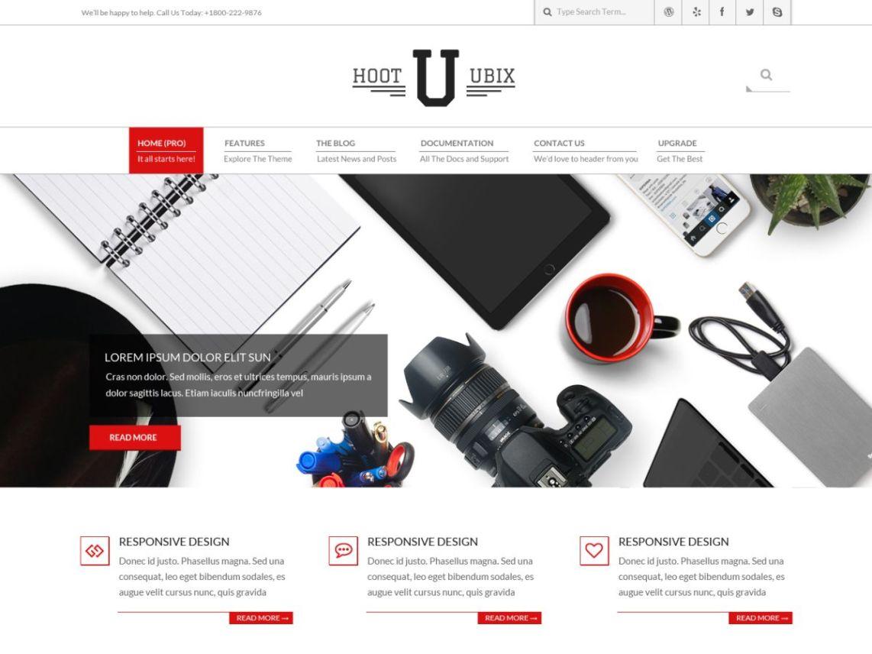Hoot Ubix - WordPress theme - WordPress.org