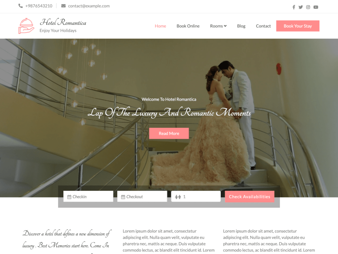 HotelRomantics-free-hotel-WordPress-themes-WPreviewteam
