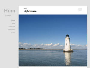 Hum free wordpress theme