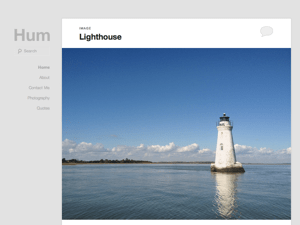 Hum theme wordpress gratuit
