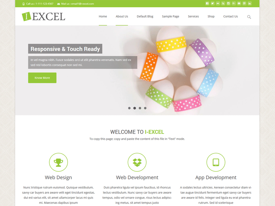 Ediblewildsus  Nice Iexcel  Free Wordpress Themes With Outstanding Iexcel Is A Beautiful Elegant And Flexible Theme With Several Premium Features This Highly Customizable Theme Can Be Used For Business Websites  With Beautiful How To Make Charts In Excel Also Excel Software In Addition How To Do Less Than Or Equal To In Excel And Project Plan Template Excel As Well As Excel Secondary Axis Additionally How To Insert Chart In Excel From Wordpressorg With Ediblewildsus  Outstanding Iexcel  Free Wordpress Themes With Beautiful Iexcel Is A Beautiful Elegant And Flexible Theme With Several Premium Features This Highly Customizable Theme Can Be Used For Business Websites  And Nice How To Make Charts In Excel Also Excel Software In Addition How To Do Less Than Or Equal To In Excel From Wordpressorg