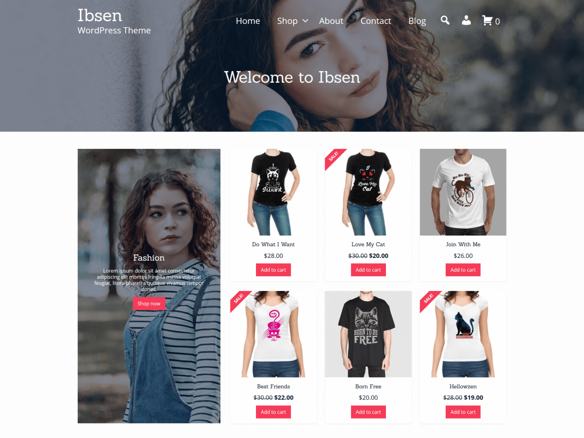 Ibsen - WordPress theme | WordPress.org Español (Costa Rica)