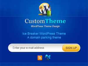 Ice Breaker free wordpress theme