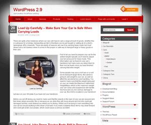 iDream free wordpress theme