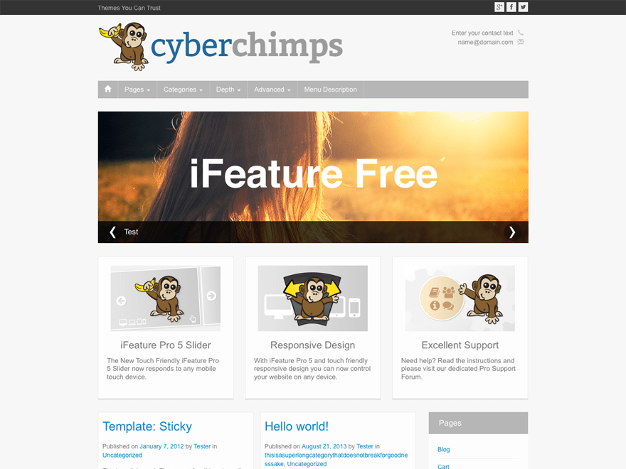 Best Responsive Free WordPress Themes with Support - Download Now