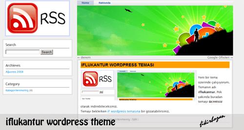 iflukantur free wordpress theme