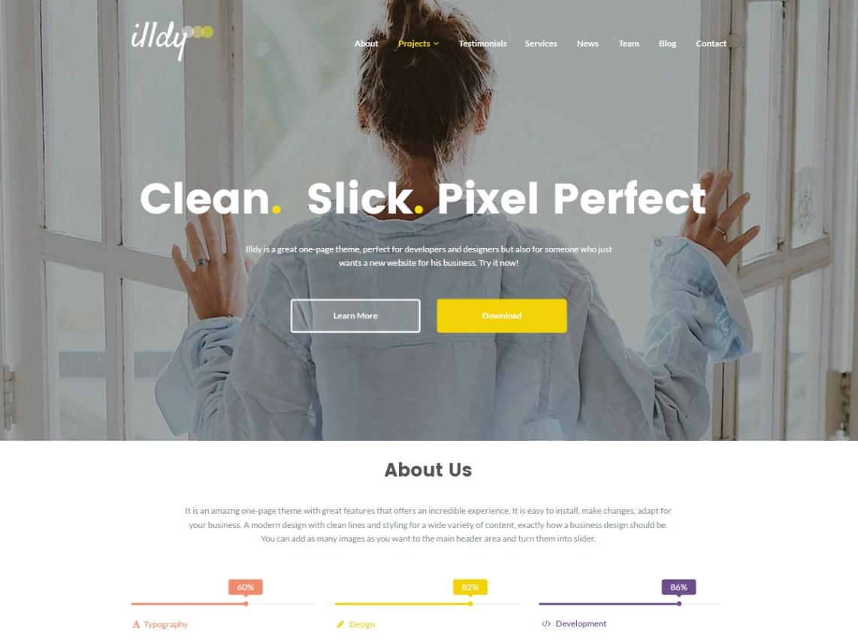 Illdy free responsive theme