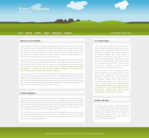 illustrative free wordpress theme