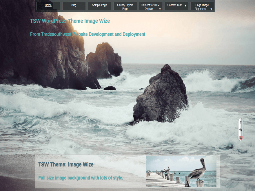 ImgWize free wordpress theme