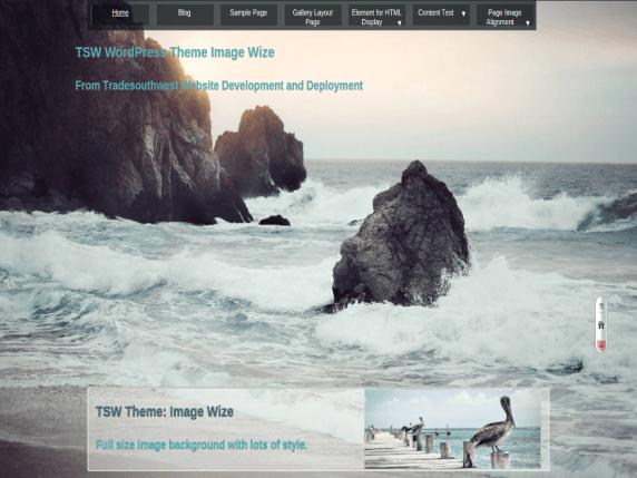 ImgWize wordpress theme