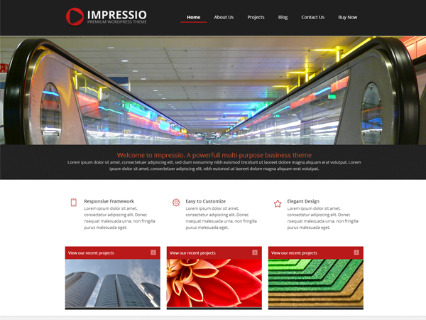 Impressio-Lite free wordpress theme