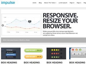 impulse free wordpress theme