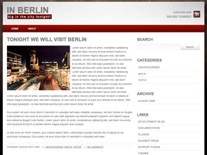 in-berlin free wordpress theme