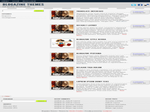 Indo Blogazine free wordpress theme