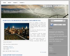 Indore free wordpress theme