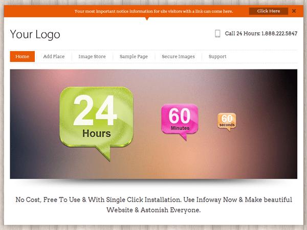 InfoWay free wordpress theme