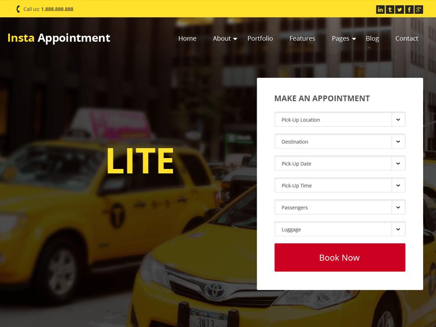 INSTAAPOINTMENT-LITE Business, Portfolio, Biographie, Blog