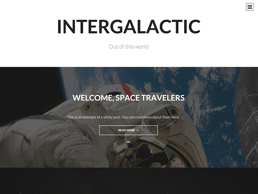 Intergalactic | WordPress.org