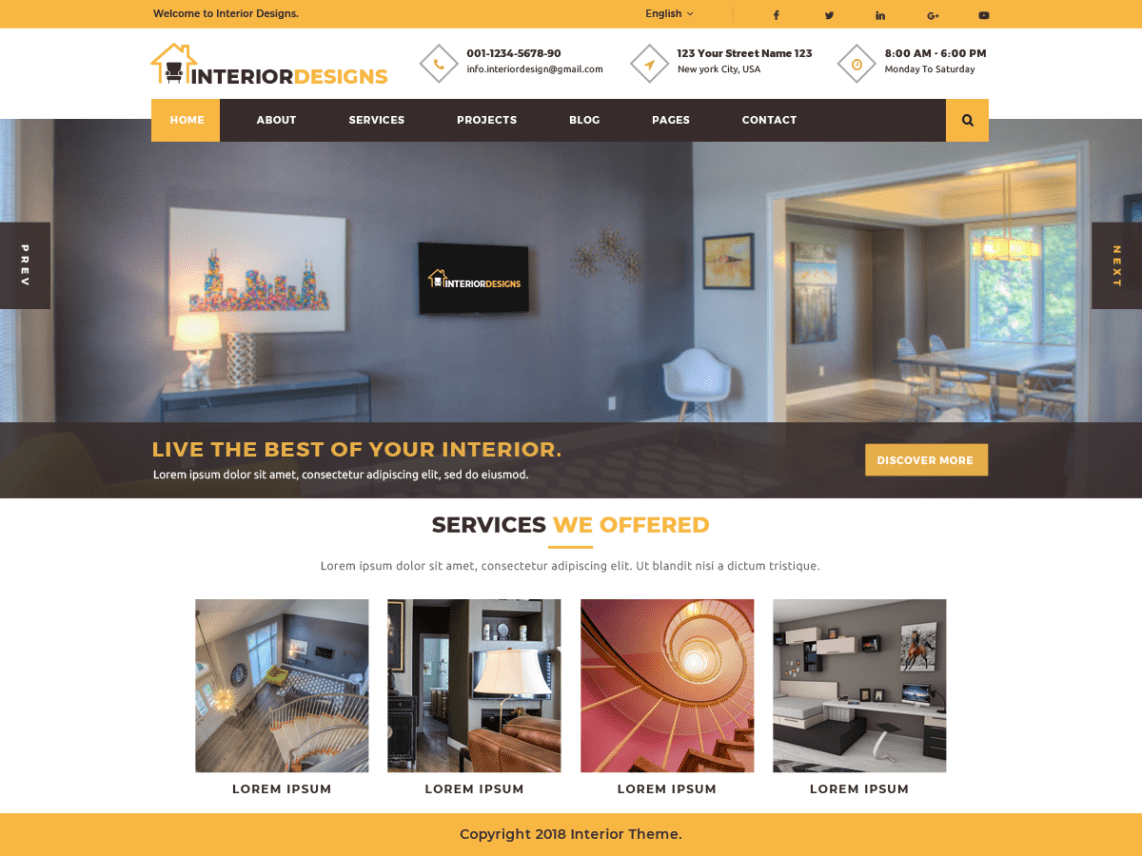 . Interior Designs   WordPress theme   WordPress org