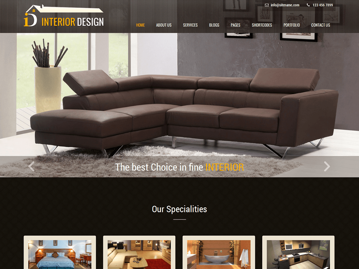 Interior Lite Is An Interior Design WordPress Theme Which Can Be Used As  Responsive Multipurpose WordPress Theme That Is Simple And Adaptable And  Flexible, ...