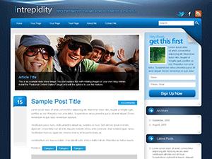intrepidity free wordpress theme