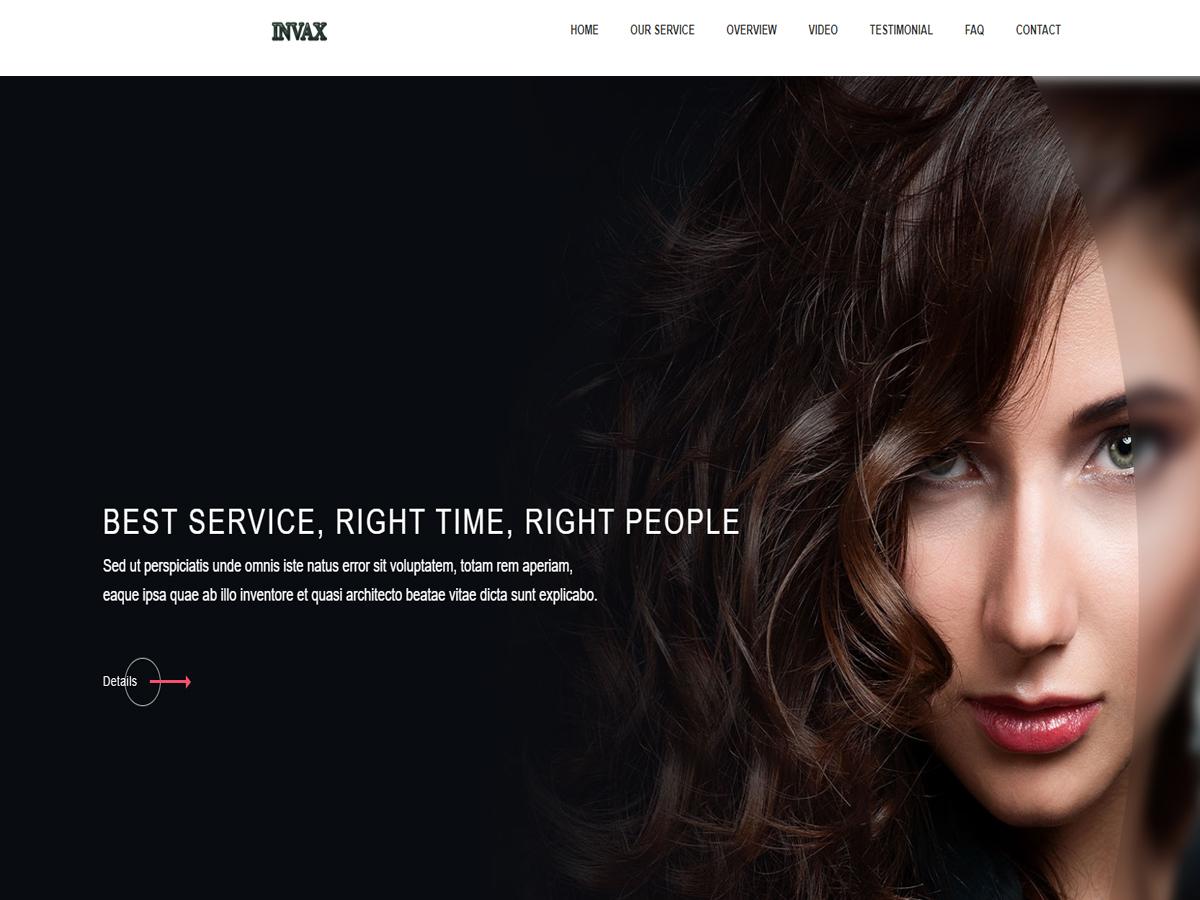Invax WordPress Theme