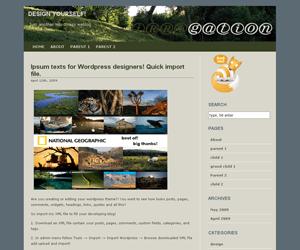 Irrigation free wordpress theme