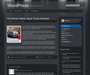 jarrah free wordpress theme