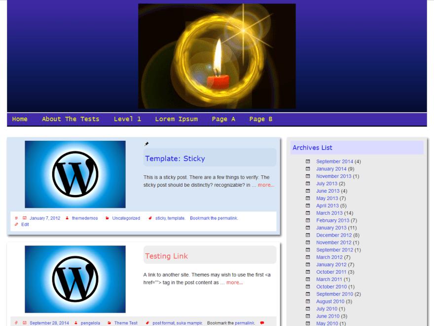 Jempol free wordpress theme