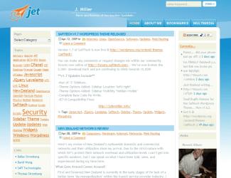 Jet free wordpress theme