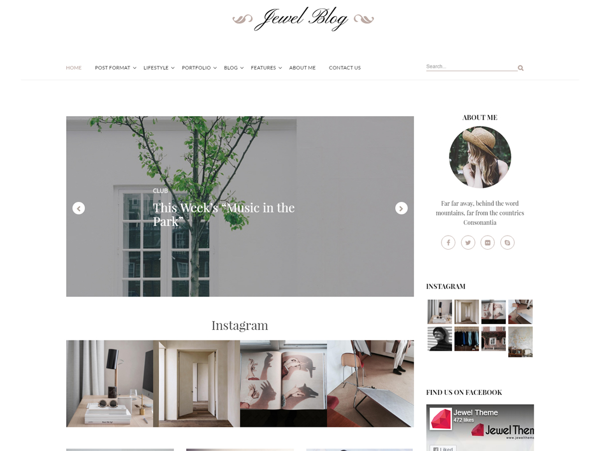 Jewel Blog