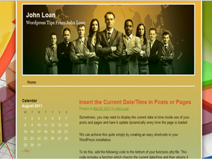 John Loan Pro free wordpress theme