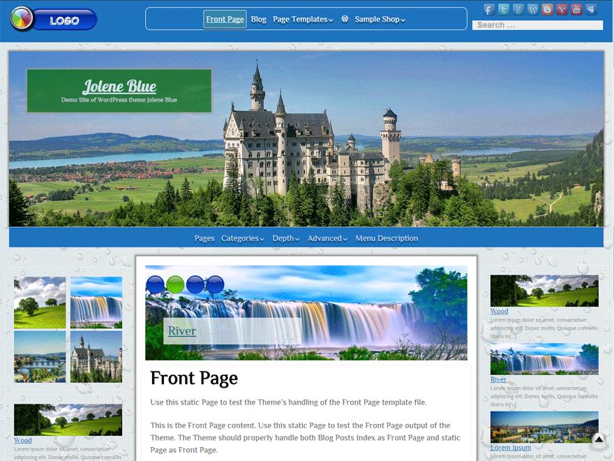 Jolene theme wordpress gratuit