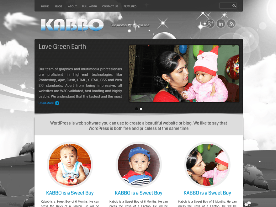 KABBO free wordpress theme