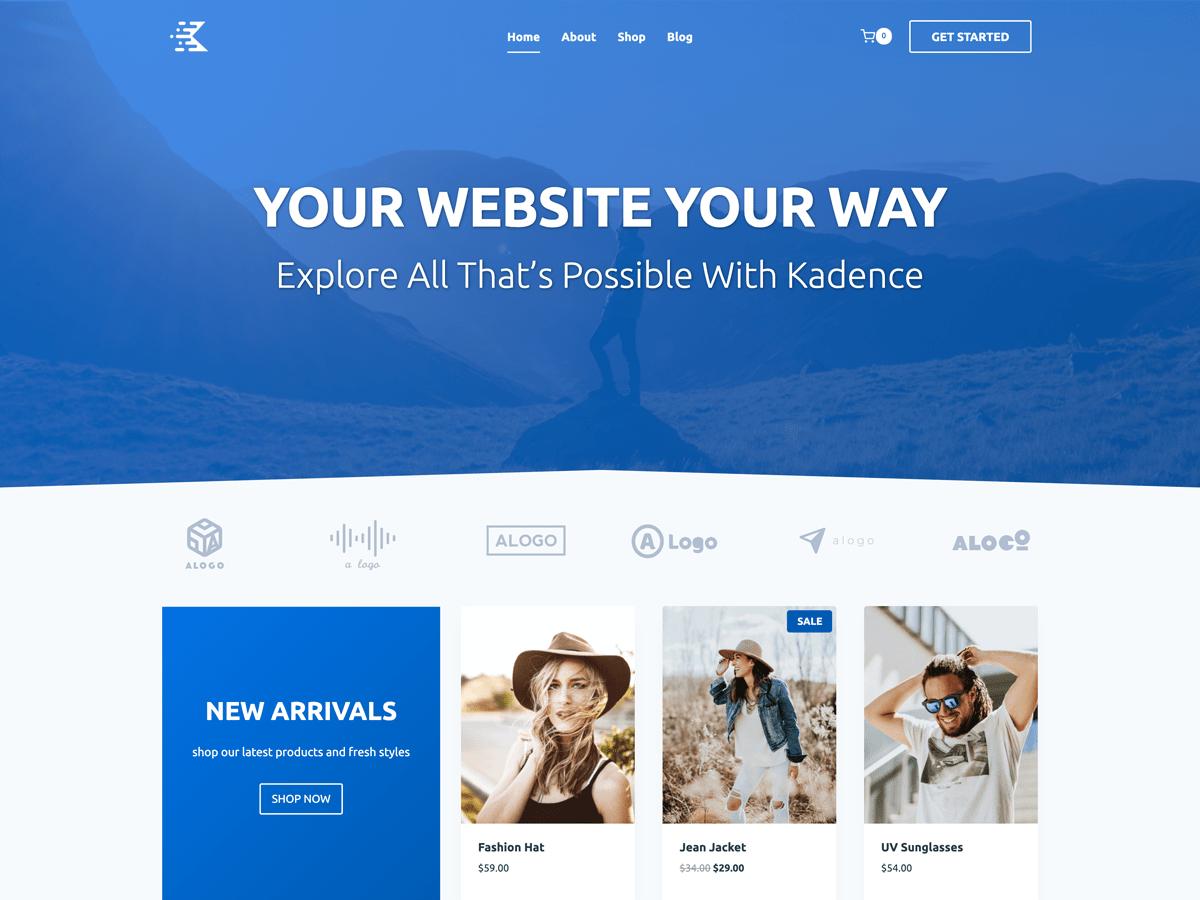 Kadence - Best Free WordPress Themes